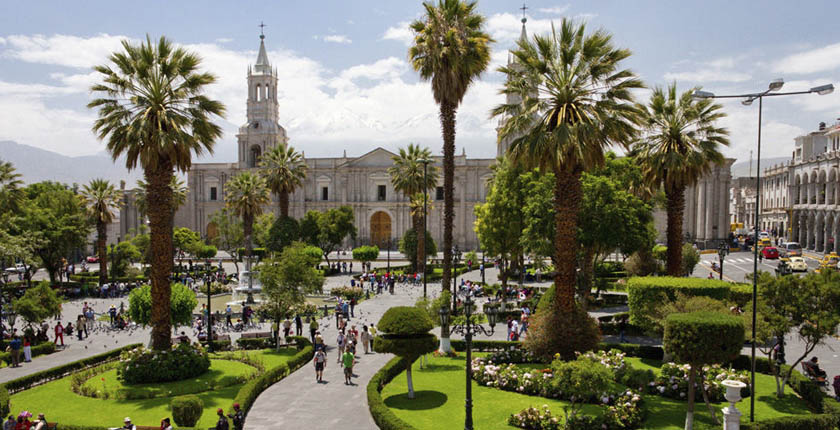Arequipa City Tour Medio dia