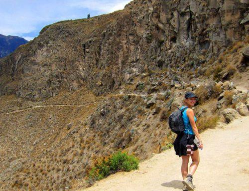Caminata al Cañon del Colca 2 dias